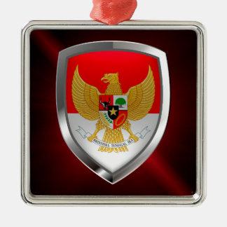 Ornamento De Metal Emblema metálico de Indonésia