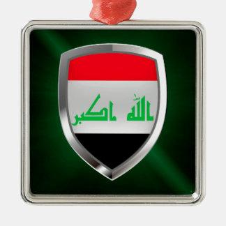 Ornamento De Metal Emblema metálico de Iraque