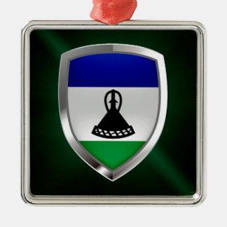 Ornamento De Metal Emblema metálico de Lesotho