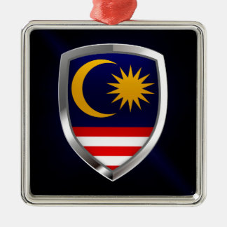 Ornamento De Metal Emblema metálico de Malaysia