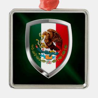 Ornamento De Metal Emblema metálico de México