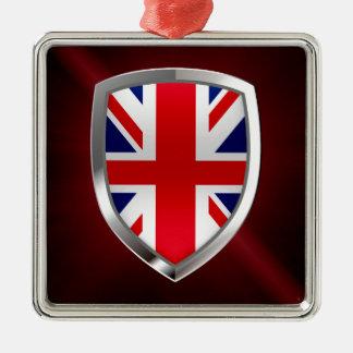 Ornamento De Metal Emblema metálico de Reino Unido