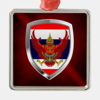 Ornamento De Metal Emblema metálico de Tailândia