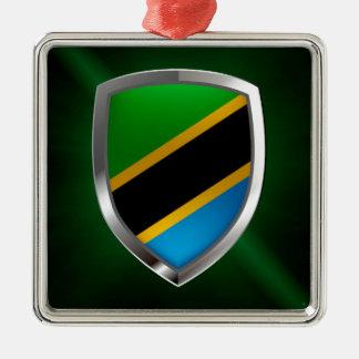 Ornamento De Metal Emblema metálico de Tanzânia