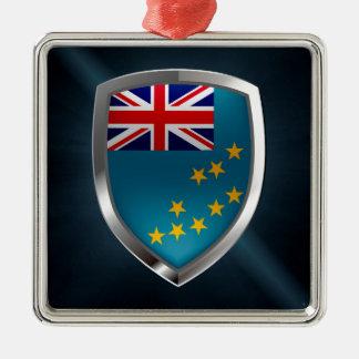 Ornamento De Metal Emblema metálico de Tuvalu