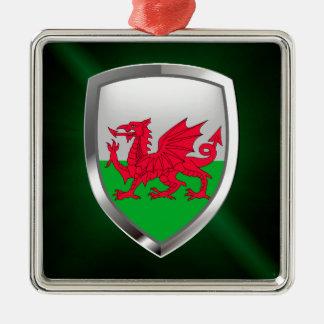 Ornamento De Metal Emblema metálico de Wales
