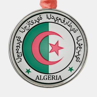 Ornamento De Metal Emblema redondo de Argélia