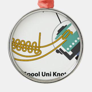 Ornamento De Metal Enrole uni o nó para o diagrama de giro do vetor