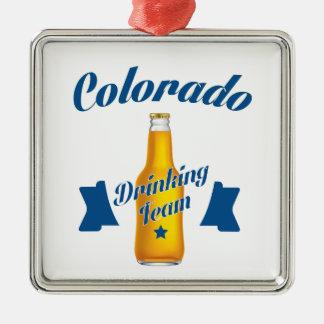 Ornamento De Metal Equipe do bebendo de Colorado