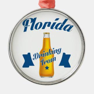 Ornamento De Metal Equipe do bebendo de Florida