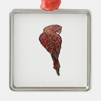 Ornamento De Metal Escarlate vermelho