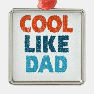 Ornamento De Metal esfrie como o pai