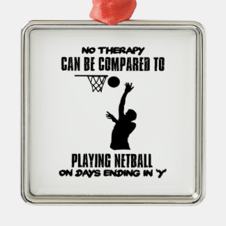 Ornamento De Metal esfrie e tendendo o DESIGN do netball