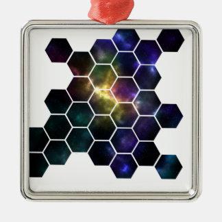 Ornamento De Metal espaço geométrico