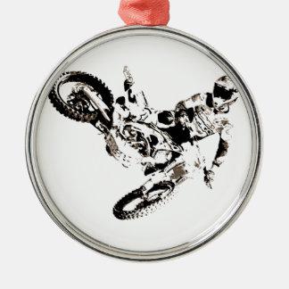Ornamento De Metal Esporte de Motorcyle do motocross do pop art