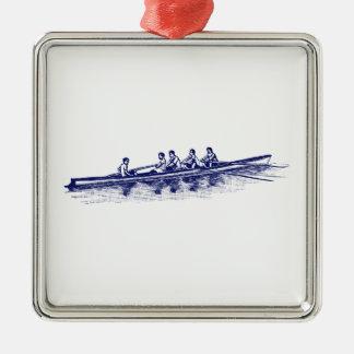 Ornamento De Metal Esportes de água azuis da equipe do grupo dos