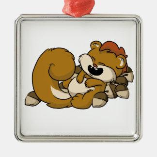 Ornamento De Metal Esquilo exaltado!