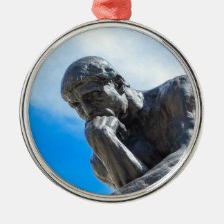 Ornamento De Metal Estátua do pensador de Rodin