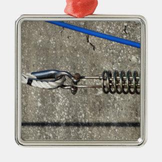 Ornamento De Metal Estilingue da corda com o grilhão de âncora da