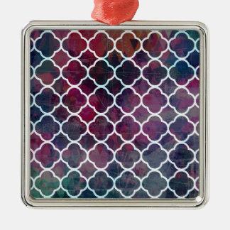 Ornamento De Metal Estilo cor-de-rosa do marroquino do Grunge