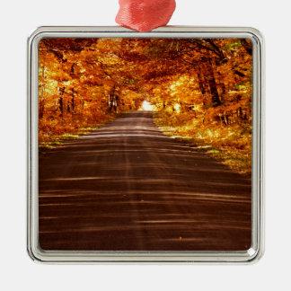 Ornamento De Metal Estrada da ilha de St Joseph na cor completa da