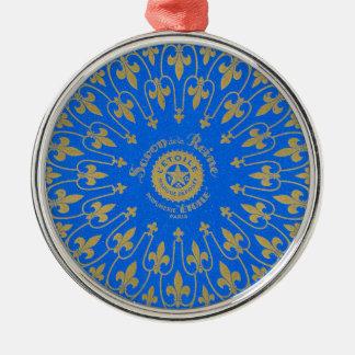 Ornamento De Metal Etiqueta de Savon de la Reine Sabão