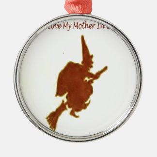 Ornamento De Metal Eu amo minha sogra