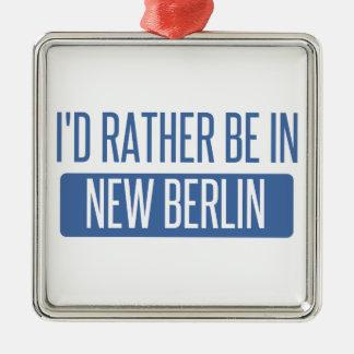 Ornamento De Metal Eu preferencialmente estaria em Berlim nova