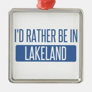 Ornamento De Metal Eu preferencialmente estaria em Lakeland