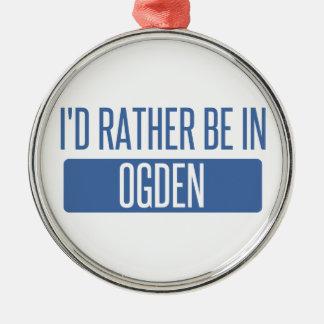Ornamento De Metal Eu preferencialmente estaria em Ogden