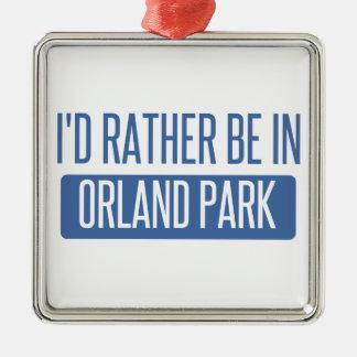 Ornamento De Metal Eu preferencialmente estaria em Orland Park