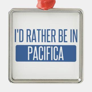 Ornamento De Metal Eu preferencialmente estaria em Pacifica