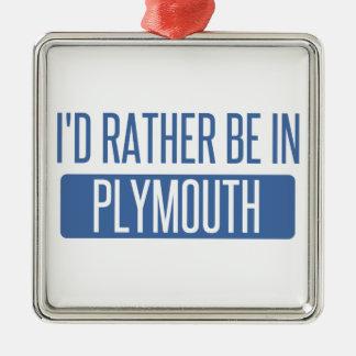 Ornamento De Metal Eu preferencialmente estaria em Plymouth