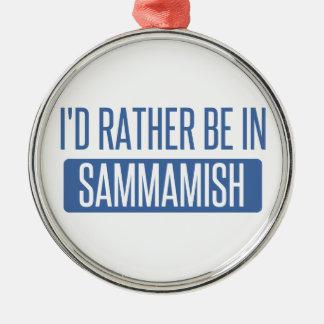 Ornamento De Metal Eu preferencialmente estaria em Sammamish