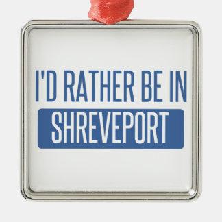 Ornamento De Metal Eu preferencialmente estaria em Shreveport