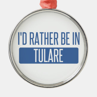 Ornamento De Metal Eu preferencialmente estaria em Tulare