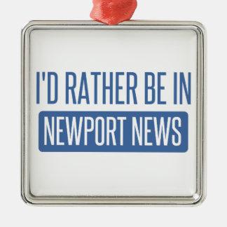 Ornamento De Metal Eu preferencialmente estaria na notícia de Newport
