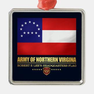 Ornamento De Metal Exército de Virgínia do norte (F10)
