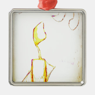 Ornamento De Metal Êxodo sereno