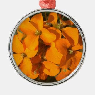 Ornamento De Metal Explosão da laranja