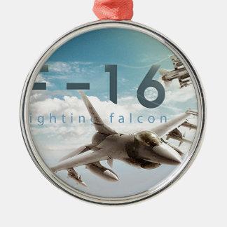 Ornamento De Metal Falcão F-16 de combate