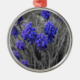Ornamento De Metal Família dos jacintos de uva seleta