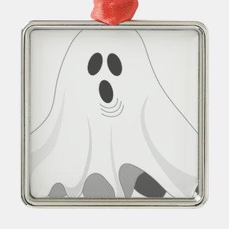 Ornamento De Metal Fantasma do Dia das Bruxas - VAIA!
