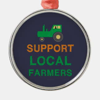 Ornamento De Metal Fazendeiros do Local do apoio