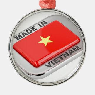 Ornamento De Metal Feito no crachá brilhante de Vietnam