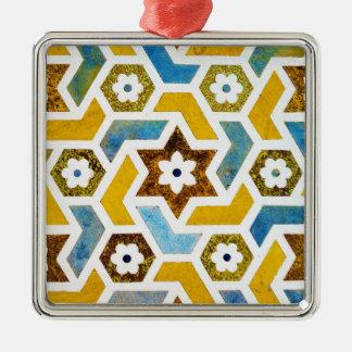 Ornamento De Metal Felicidade marroquina