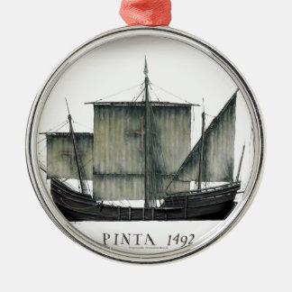 Ornamento De Metal Fernandes 1492 tony de Pinta