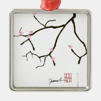 Ornamento De Metal fernandes tony sakura com os 7 pássaros