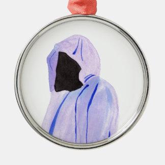 Ornamento De Metal Figura Cloaked