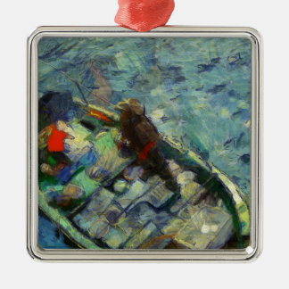Ornamento De Metal fisherman_saikung Hong Kong